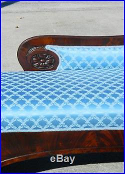 Mahogany Empire LoungeSofaDaybedRecamier circa 1840
