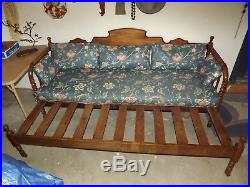 Matching Antique 100+ Yr Old Genny Lynn Daybed and Standard Bed Frame