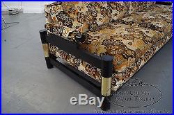 Michael Taylor Vintage Designer Sofa circa 1980s