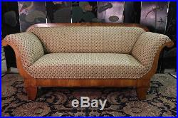 Mid-19th Century Biedermeier Sofa With New Upholstery Excellent Condition