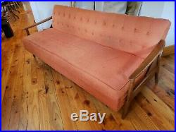 Mid-Century Couch That Folds Flat Daybed Sofabed Sofa Danish Modern