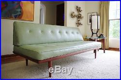 Mid Century Danish Modern Peter Hvidt teak Sofa