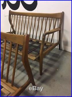 Mid Century Danish modern 2 Part L Sofa