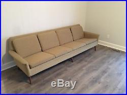 Mid Century Modern 4 Seat Dux Sofa By Folke Ohlsson