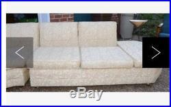 Mid Century Modern Circular Sofa/Sectional