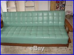 Mid Century Modern Eames Vintage Retro Sofa Day Bed Danish Cattle Symbols Brand