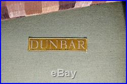 Mid Century Modern Edward Wormley for Dunbar Tufted Sofa 1950s 1960s