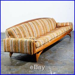 Mid Century Modern Gondola Sofa Couch Kroehler American Leisure Adrian Pearsall