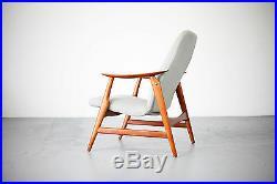Mid Century Modern Lounge Chair Excellent Design 60s Sessel Teak 60er No. 2