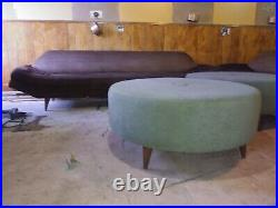 Mid Century Modern Sofas and Ottomans Adrian Pearsall style