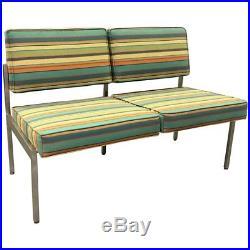 Mid-Century Modern Steelcase Loveseat Sofa