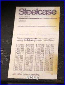 Mid Century Modern Warren Platner for Steelcase Fiberglass Lucite Sofa 1970s