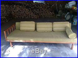 Mid century Danish /american modern daybed /trundle with walnut frame