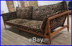 Mid century Johannes Andersen style gondola sofa