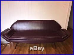 Mid century modern Overman Couch