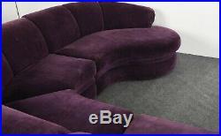 Milo Baughman 3 Piece Sectional Sofa for Thayer Coggin, 1996
