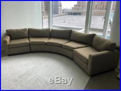Milo Baughman Curved Sofa