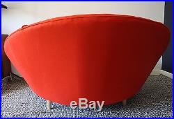 Milo Baughman Large Round Chaise Lounge Mid-Century Modern