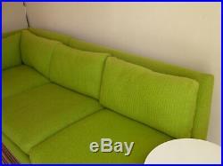 Milo Baughman Sofa Couch by Thayer Coggin 60s 70s Danish Modern Knoll MCM Miller