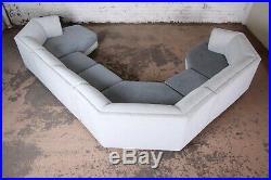 Milo Baughman for Thayer Coggin Four-Piece Modern Sectional Sofa