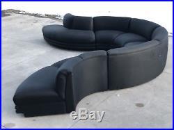 Modern Vladimir Kagan Four Piece Sectional Sofa
