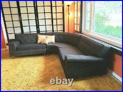 ORIGINAL/RARE! 1950s Mid-Century Sectional Couch/Sofa by STRATFORD local p/u