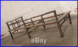 Old Hickory Style Sofa, Chaise and Coffee Table Set