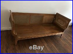 Oriental Carson Pirie Scott & Co. Day Bed Chinoserie Daybed Sofa Chaise Lounge