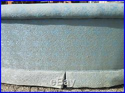 Original Henredon Curve Front Roll Arm/Back Sofa Vintage Mid Century Modern