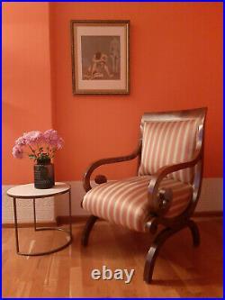 Original Schinkel Sessel, Biedermeier um 1825