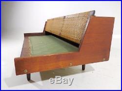 Original Signed Hans Wegner Getama Teak Daybed Sofa Mid Century Danish Modern