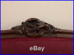 Ornate Antique French Settee