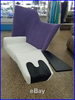 Post Modern 80's Cassina Paolo Deganello Chaise Lounge W Table