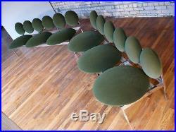 RARE Custom Made Pair POP Modern Style ORB Sectional Sofas Nelson Style