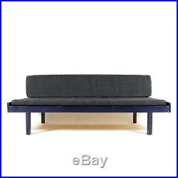 Retro Vintage Danish Double Daybed Sofa Bed Studio Couch 60s 70s Scandinavian