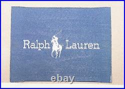 Rrp £12000 Fully Restored Ralph Lauren Graham 3 4 Seater Leather Sofa Mahogany