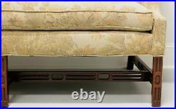 SOUTHWOOD Camelback Chippendale Style Sofa