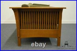 STICKLEY FURNITURE Oak Craftsmen Mission / Shaker Style Sofa 89-234