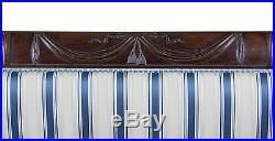 SWC-Classical / Federal / Sheraton Carved Mahogany Phyfe Sofa, New York, c. 1810