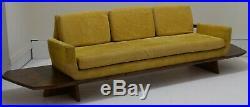 Samson Berman floating platform sofa Mid Century Modern platform vintage table