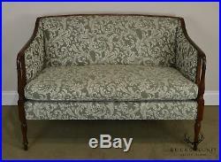 Sheraton Style Custom Quality Love Seat
