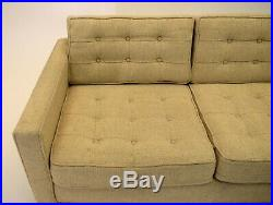 Sofa love seat Knoll Style Tufted vintage mid century modern