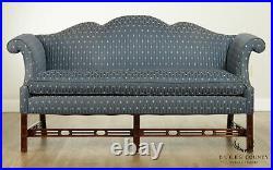 Southwood Chippendale Style Mahogany Camelback Sofa