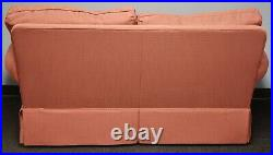 Southwood Custom Upholstered Sofa with Matching Throw Pillows Two Cushion Sofa
