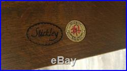 Stickley Mission Collection Oak Settle