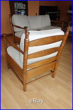 Stickley Sofa & Chairs Clarence House Cushions Sleek Style Mushroom Finials