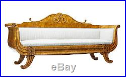 Stunning 19th Century Swedish Biedermeier Birch Root Sofa