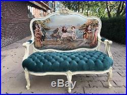 Stunning French Louis XVI Sofa/settee/love-seat Gobelin