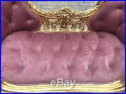 Stunning French Louis XVI sofa