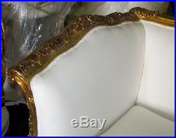 Stunning Gilded Italian Louis XV Settee Daybed Sofa Canapé